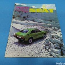 Coches: REVISTA SEAT NUM. 123 AÑO 1977. Lote 194383502