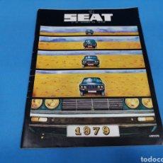 Coches: REVISTA SEAT NUM. 139 AÑO 1978. Lote 194390060