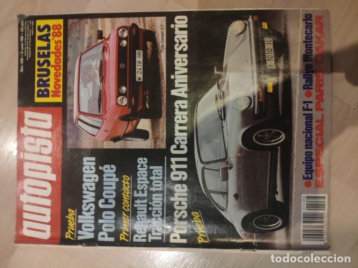 AUTOPISTA Nº1488 (Coches y Motocicletas Antiguas y Clásicas - Revistas de Coches)