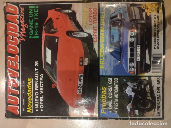 Coches: autovelocidad magazine año 1 nº3 - Foto 1 - 194531293