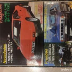 Coches: AUTOVELOCIDAD MAGAZINE AÑO 1 Nº3. Lote 194531293