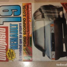 Coches: AUTOPISTA Nº1360 1985 RENAULT 18. Lote 194595983