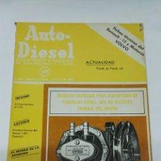 Coches: REVISTA AUTO-DIESEL 151 ENERO 1973 RENAULT 12. Lote 194624851