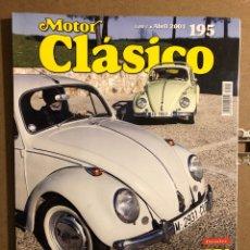 Coches: MOTOR CLÁSICO N° 195 (ABRIL 2004). DOSSIER VW ESCARABAJO, NAPIER 15 CV, CITROËN DS 23 IE,.... Lote 194638020