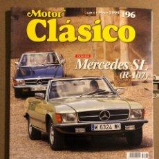 Coches: MOTOR CLÁSICO N° 196 (MAYO 2004). DOSSIER MERCEDES SL (R-107), ALFA 1600 JUNIOR ZAGATO. Lote 194638110