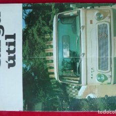 Coches: ANTIGUA REVISTA-CARGA UTIL·AGOSTO 1969-EDITADA POR S.A.V.A.. Lote 194644968