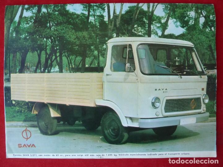 Coches: ANTIGUA REVISTA-CARGA UTIL·AGOSTO 1969-EDITADA POR S.A.V.A. - Foto 2 - 194644968
