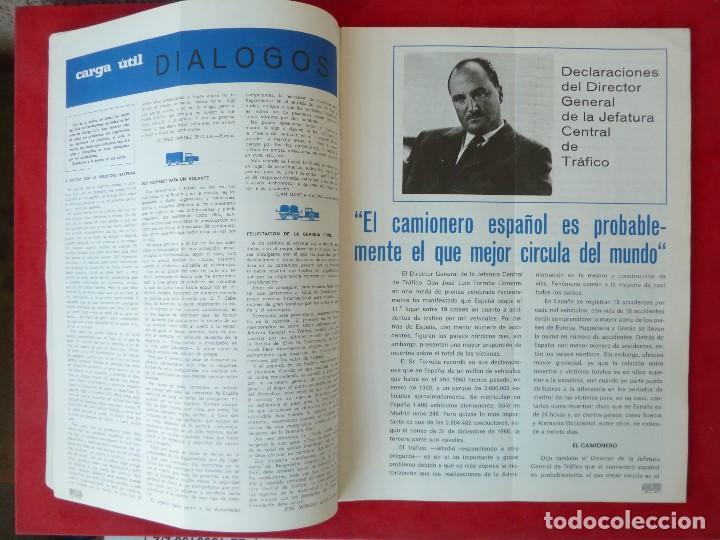 Coches: ANTIGUA REVISTA-CARGA UTIL·AGOSTO 1969-EDITADA POR S.A.V.A. - Foto 4 - 194644968