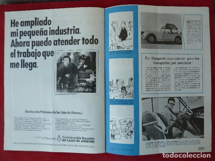 Coches: ANTIGUA REVISTA-CARGA UTIL·AGOSTO 1969-EDITADA POR S.A.V.A. - Foto 7 - 194644968
