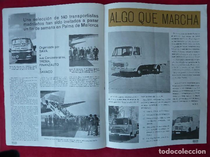 Coches: ANTIGUA REVISTA-CARGA UTIL·ABRIL 1969-EDITADA POR S.A.V.A. - Foto 5 - 194645323