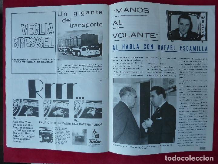 Coches: ANTIGUA REVISTA-CARGA UTIL·ABRIL 1969-EDITADA POR S.A.V.A. - Foto 6 - 194645323
