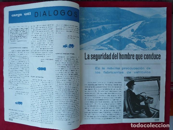 Coches: ANTIGUA REVISTA-CARGA UTIL·ABRIL 1969-EDITADA POR S.A.V.A. - Foto 7 - 194645323