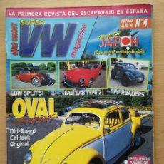 Coches: SUPER VW MAGAZINE Nº 4 2002 CON POSTER. VOLKSWAGEN ESCARABAJO KAFER T1 T2 T3 ENRIC PRATS. Lote 194674885