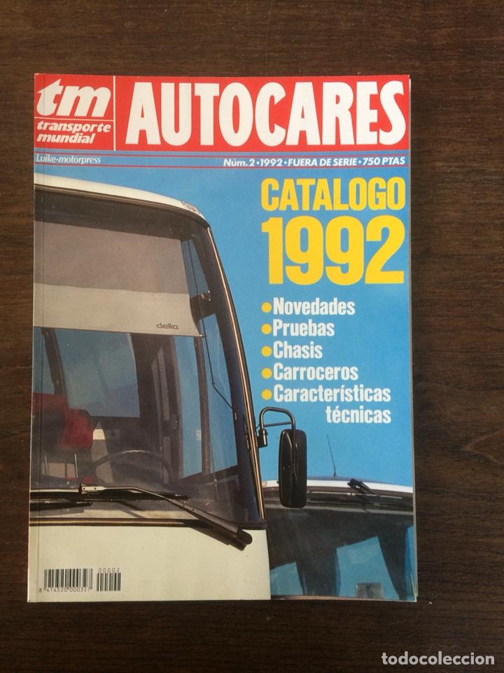 REVISTA CATALOGO TRANSPORTE MUNDIAL AUTOBUSES DE 1992 (Coches y Motocicletas Antiguas y Clásicas - Revistas de Coches)