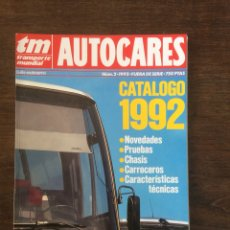 Coches: REVISTA CATALOGO TRANSPORTE MUNDIAL AUTOBUSES DE 1992. Lote 194676822