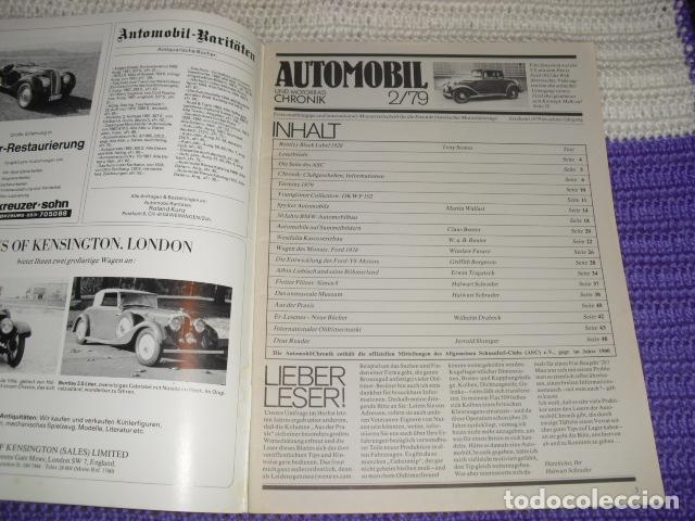 Coches: AUTOMOBIL UND MOTORRAD CHRONIK 2/79 - Foto 2 - 194888738