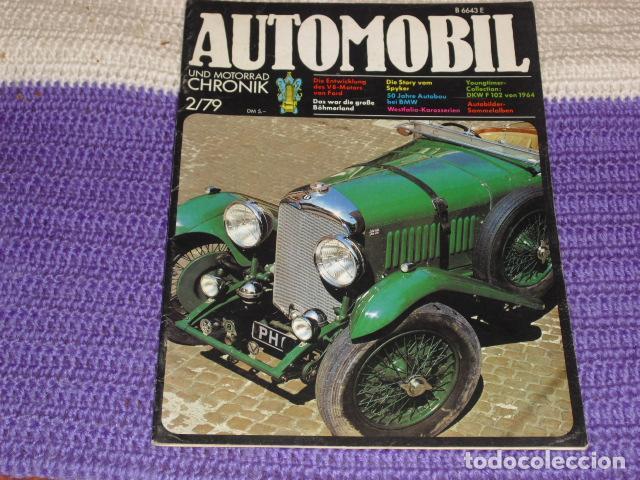 AUTOMOBIL UND MOTORRAD CHRONIK 2/79 (Coches y Motocicletas Antiguas y Clásicas - Revistas de Coches)