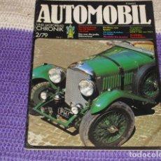 Coches: AUTOMOBIL UND MOTORRAD CHRONIK 2/79. Lote 194888738
