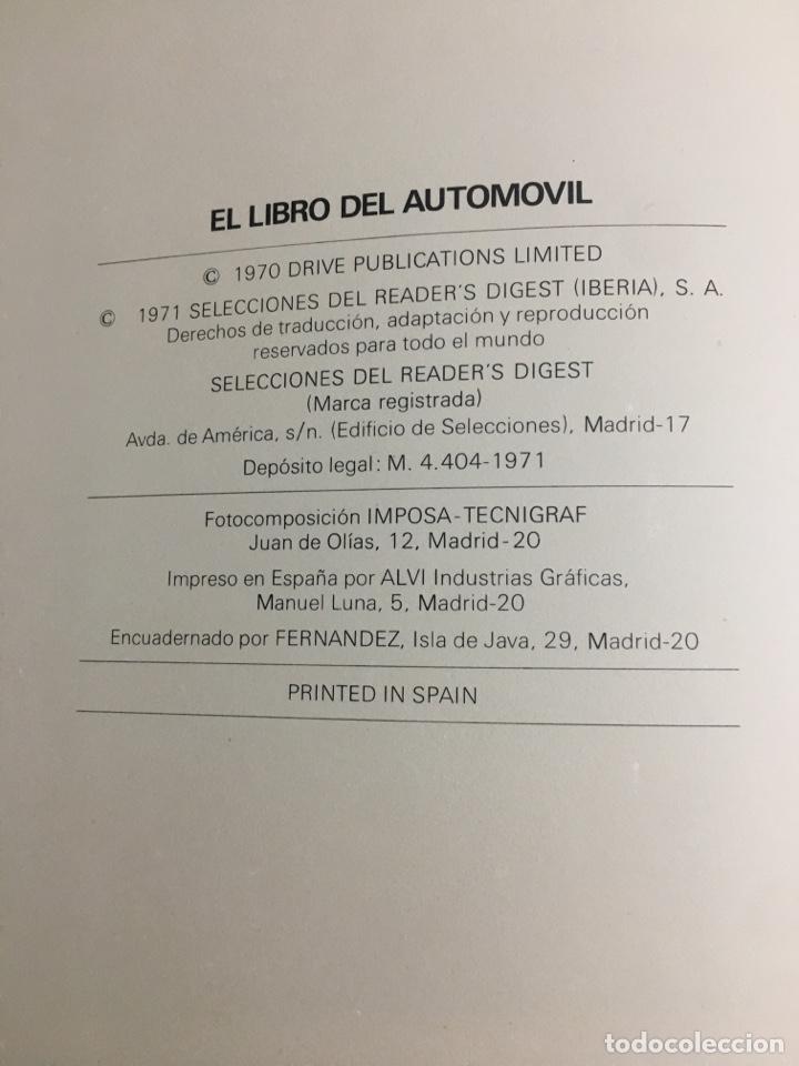 Coches: El libro de automóvil 1971 selecciones del readers figest - Foto 4 - 194898162