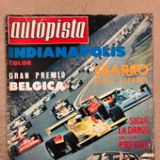 Coches: AUTOPISTA N° 955 (JUNIO 1977). BMW 728/730/733 I, SEAT 124, SEAT 127, INDIANÁPOLIS, RALLYES,... Lote 194922875