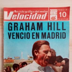 Coches: VELOCIDAD Nº 349 - REVISTA GRÁFICA DEL MOTOR - 1968 - GRAHAM HILL. Lote 194927537