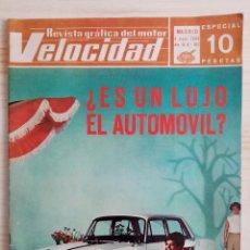 Coches: VELOCIDAD Nº 347 - REVISTA GRÁFICA DEL MOTOR - 1968 . Lote 194927640