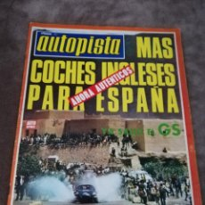Coches: AUTOPISTA Nº 746 - 26/MAYO/1973 - CITROËN GS - AUTHI - RALLYE DE MARRUECOS. Lote 194948653