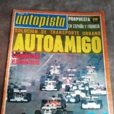 Coches: AUTOPISTA Nº 760 - 1/SEPTIEMBRE/1973 - ASTURCÓN - ALFA ROMEO ALFASUD. Lote 195007236