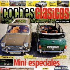 Coches: COCHES CLASICOS N. 174 - EN PORTADA: MINI ESPECIALES (NUEVA). Lote 195035767
