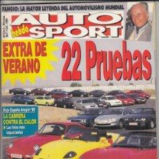 Coches: REVISTA AUTO HEBDO SPORT Nº 524-252 AÑO 1995. 22 DEPORTIVOS DEL MERCADO. RAC: CLIO WILLIAMS GR. A. Lote 195136942