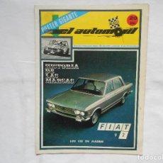 Coches: REVISTA EL AUTOMOVIL RACING Nº 40. Lote 195179177