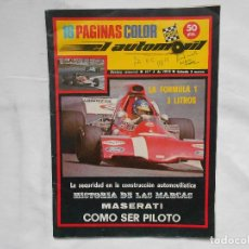 Coches: REVISTA EL AUTOMOVIL RACING Nº 4. Lote 195179273