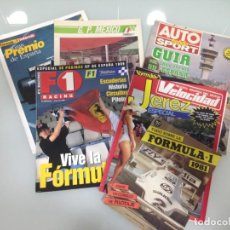 Coches: LOTE FORMULA 1, 4 POSTERS, GUIA 1981,ESPAÑA 1986,ESPAÑA 1987,MEXICO 1989,ESPAÑA 1993, ESPAÑA 1999. Lote 195253148