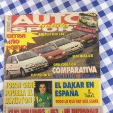 Coches: AUTO HEBDO SPORT 455-6 AÑO 1994. Lote 195283041