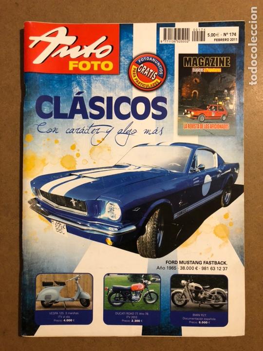 AUTO FOTO N° 174 (2011). CLÁSICOS, HISTÓRICOS, DEPORTIVOS, MOTOS CLÁSICAS,... (Coches y Motocicletas Antiguas y Clásicas - Revistas de Coches)