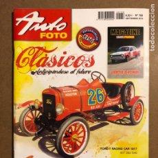 Coches: AUTO FOTO N° 169 (2010). CLÁSICOS, HISTÓRICOS, DEPORTIVOS, MOTOS CLÁSICAS,.... Lote 195344266