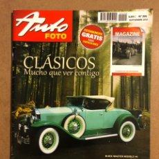Coches: AUTO FOTO N° 205 (2013). CLÁSICOS, HISTÓRICOS, DEPORTIVOS, MOTOS CLÁSICAS,.... Lote 195344580