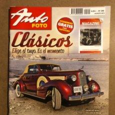 Coches: AUTO FOTO N° 204 (2013). CLÁSICOS, HISTÓRICOS, DEPORTIVOS, MOTOS CLÁSICAS,.... Lote 195344588