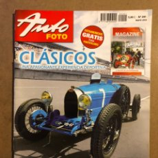 Coches: AUTO FOTO N° 201 (2013). CLÁSICOS, HISTÓRICOS, DEPORTIVOS, MOTOS CLÁSICAS,.... Lote 195344601