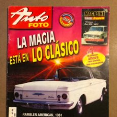 Coches: AUTO FOTO N° 89 (2004). CLÁSICOS, HISTÓRICOS, DEPORTIVOS, MOTOS CLÁSICAS,.... Lote 195344661