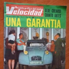 Coches: VELOCIDAD Nº 390 - 1969. Lote 195354067