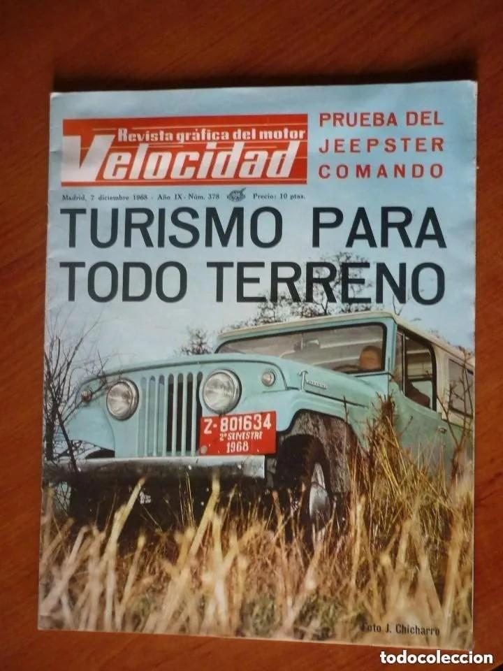 Coches: Velocidad nº 378 - 1968 - Foto 1 - 195355063