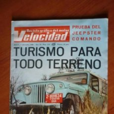 Coches: VELOCIDAD Nº 378 - 1968. Lote 195355063
