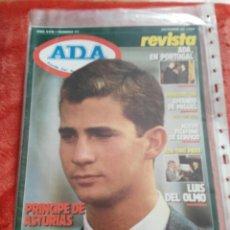 Coches: REVISTA ADA AYUDA DEL AUTOMOVILISTA N.55 AÑO 1989. Lote 195359903
