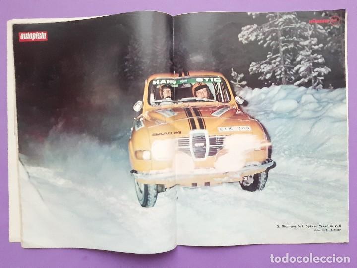 Coches: AUTOPISTA Nº.784 AÑO 1974 SALON NAUTICO BARCELONA SEAT 131 RENUEVA CARROCERIA GAMA 124 - Foto 2 - 195365557