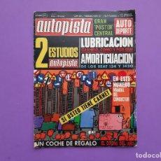 Coches: AUTOPISTA Nº.628 /1971 XIX RALLYE COSTA BRAVA RALLYE FALLAS ALBERTO RUIZ-GIMENEZ JOSE MANUEL LENCINA. Lote 195376068
