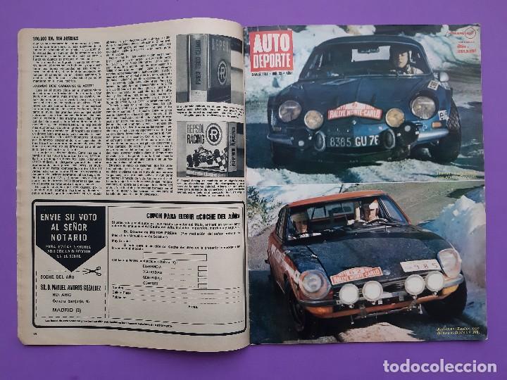 Coches: AUTOPISTA Nº.631/1971 PEGASO DUMPER 3075 RALLYE VASCO-NAVARRO TRIUNFA 124 SPORT COUPE - Foto 2 - 195377631