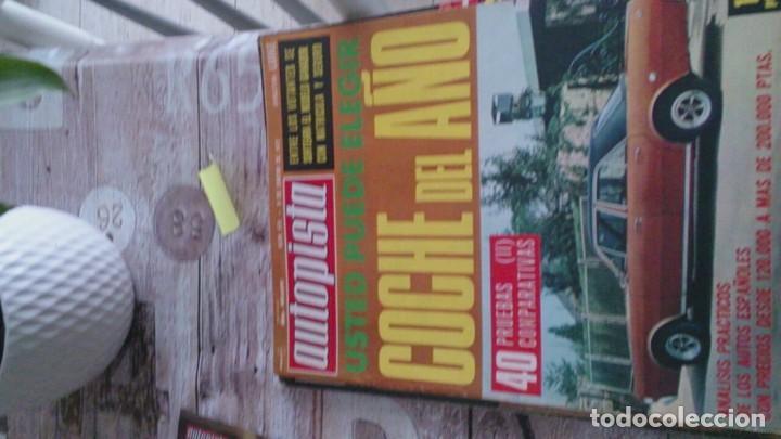 REVISTA AUTOPISTA N 674 ENERO 1972 (Coches y Motocicletas Antiguas y Clásicas - Revistas de Coches)