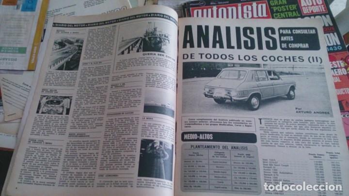Coches: Revista autopista n 674 enero 1972 - Foto 3 - 195472520