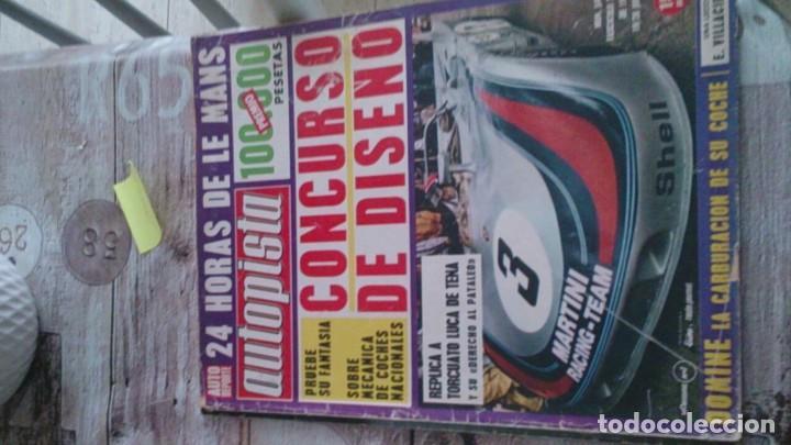 REVISTA AUTOPISTA N 645 JUNIO DE 1971 (Coches y Motocicletas Antiguas y Clásicas - Revistas de Coches)